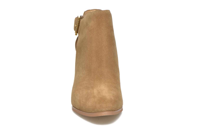 Bottines et boots Michael Michael Kors Adams Bootie Marron vue portées chaussures