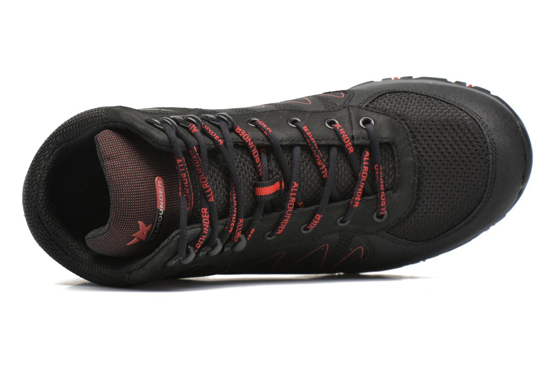 Chaussures de sport Allrounder by Mephisto Belamy Tex Noir vue gauche