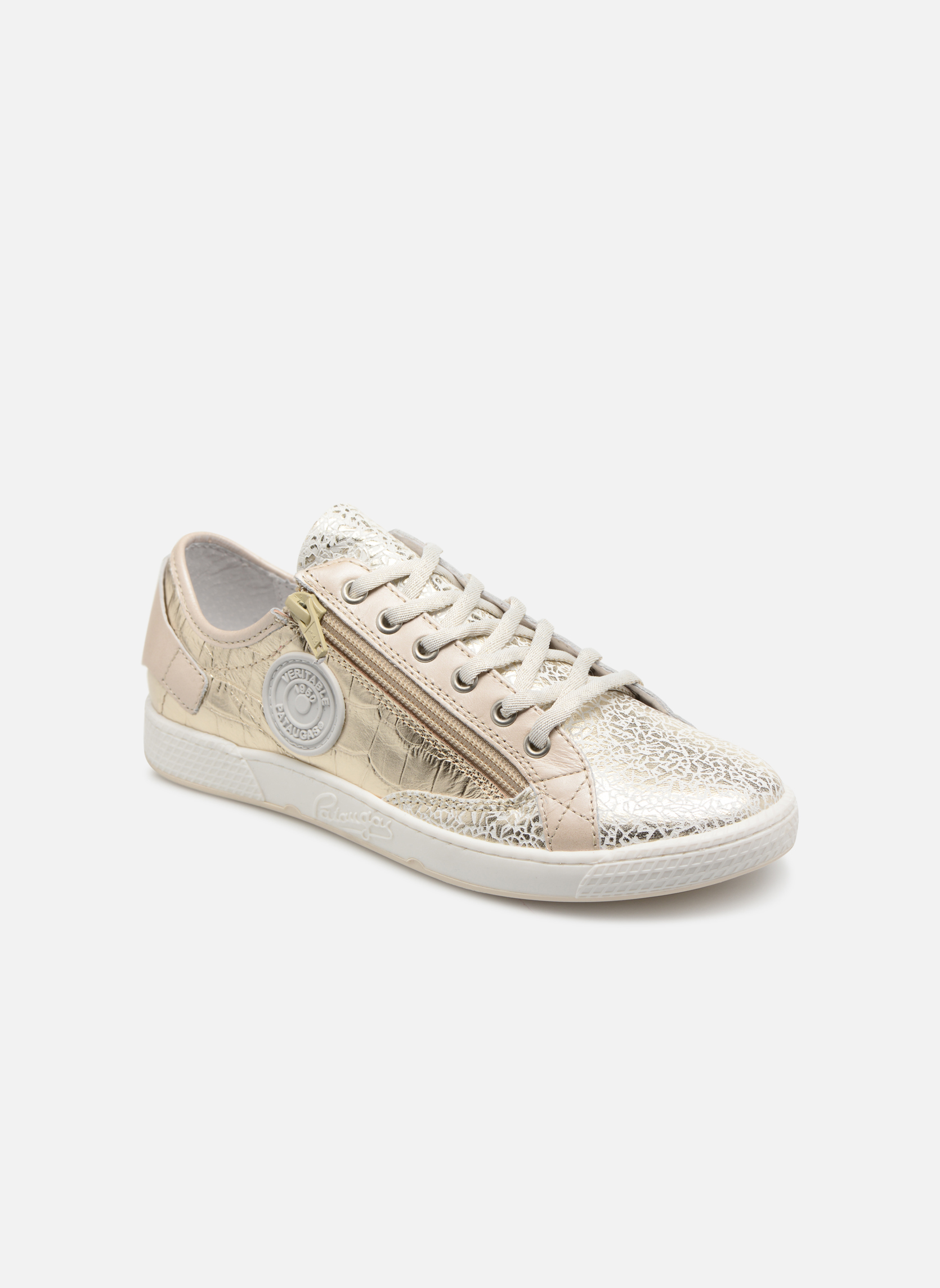 Grandes descuentos últimos zapatos Pataugas JesterMS (Oro y bronce) - Deportivas Descuento