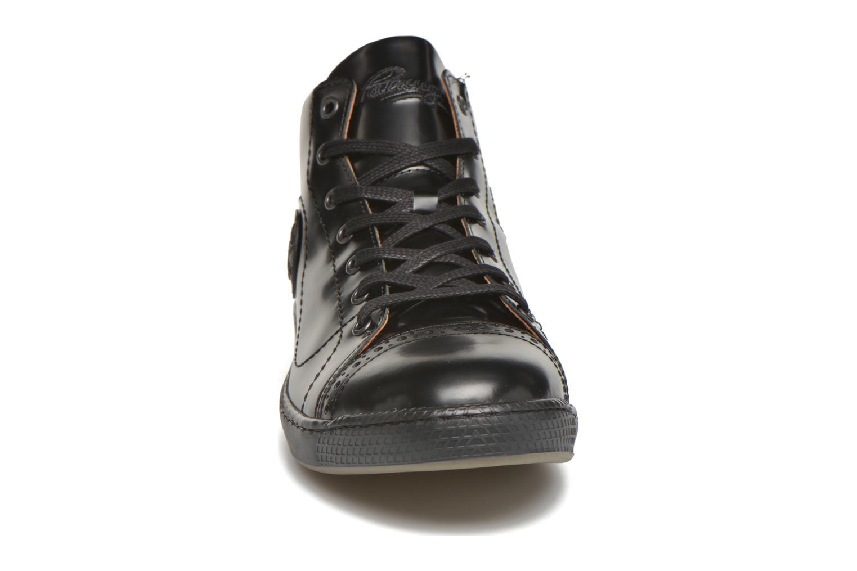 Baskets Pataugas Jason Noir vue portées chaussures