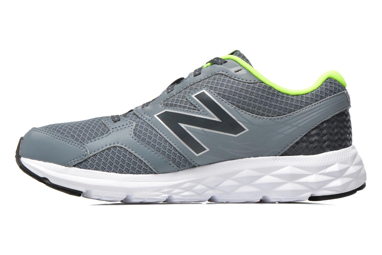 Chaussures de sport New Balance M490 D V3 Gris vue face