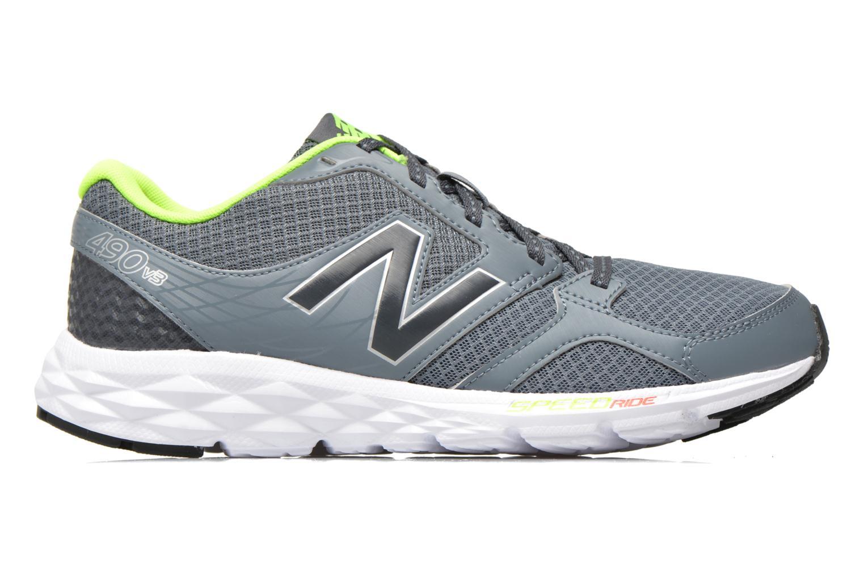 Chaussures de sport New Balance M490 D V3 Gris vue derrière