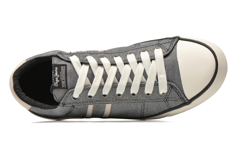 Baskets Pepe jeans Serthi fabric Gris vue gauche