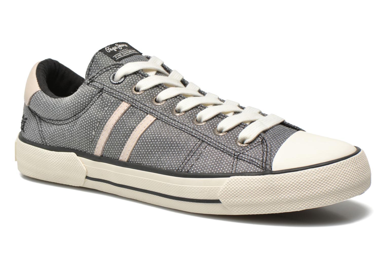 Baskets Pepe jeans Serthi fabric Gris vue détail/paire