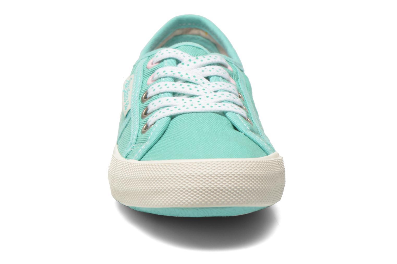 Baskets Pepe jeans Baker plain Vert vue portées chaussures