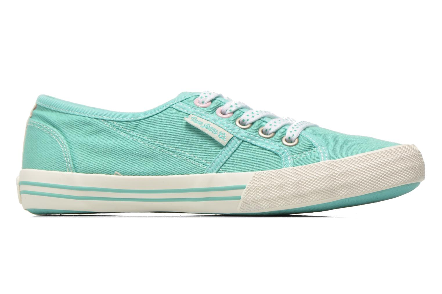 Trainers Pepe jeans Baker plain Green back view
