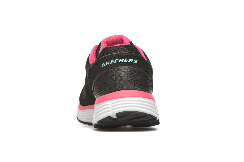 Sneaker Skechers Agility - Perfect FI schwarz ansicht von rechts