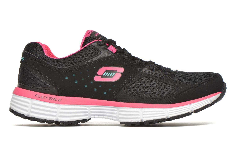 Sneaker Skechers Agility - Perfect FI schwarz ansicht von hinten