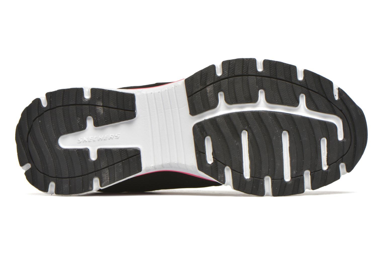 Sneaker Skechers Agility - Perfect FI schwarz ansicht von oben