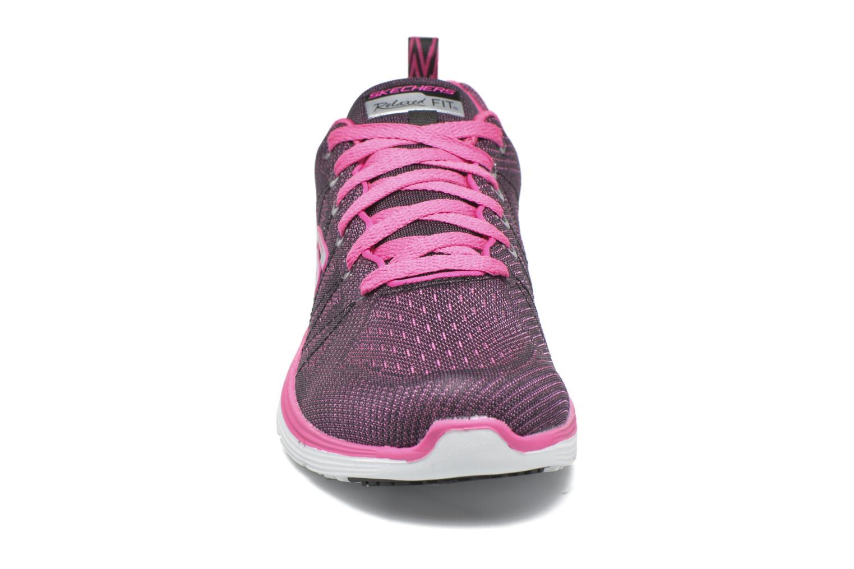 Chaussures de sport Skechers Valeris Rose vue portées chaussures