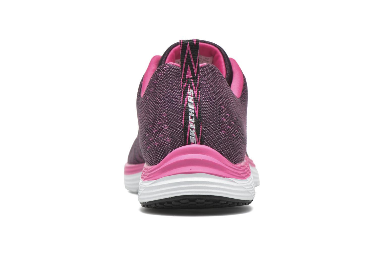 Chaussures de sport Skechers Valeris Rose vue droite