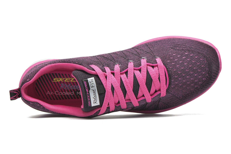 Chaussures de sport Skechers Valeris Rose vue gauche
