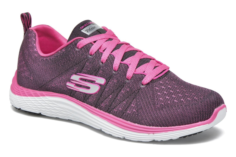 Chaussures de sport Skechers Valeris Rose vue détail/paire