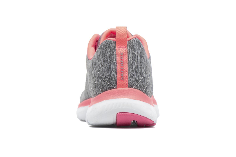 Zapatos promocionales Skechers Flex Appeal 2.0 (Gris) - Deportivas   Los últimos zapatos de descuento para hombres y mujeres