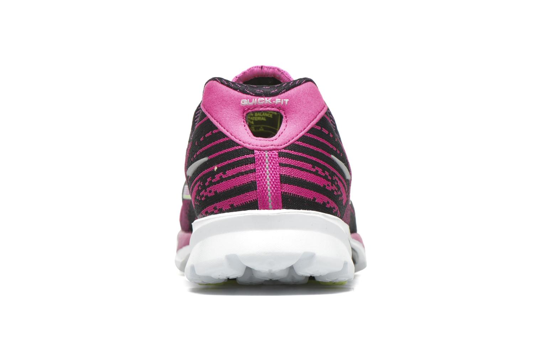 Chaussures de sport Skechers Go Run 4-2016 Rose vue droite