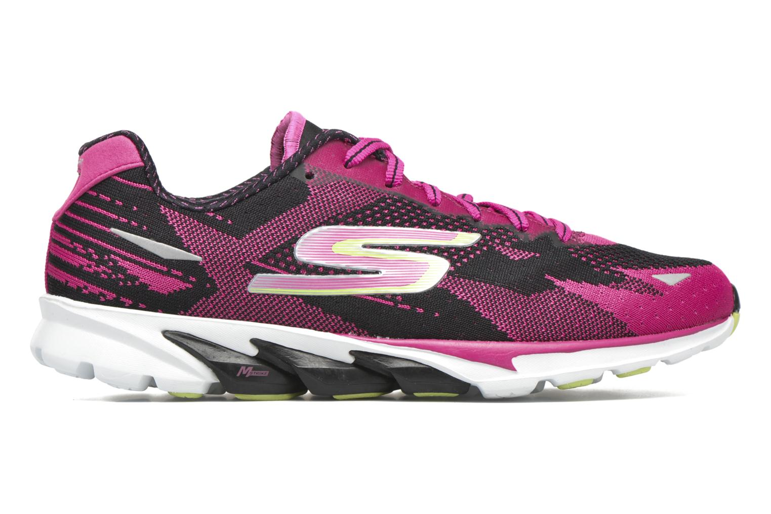 Sport shoes Skechers Go Run 4-2016 Pink back view