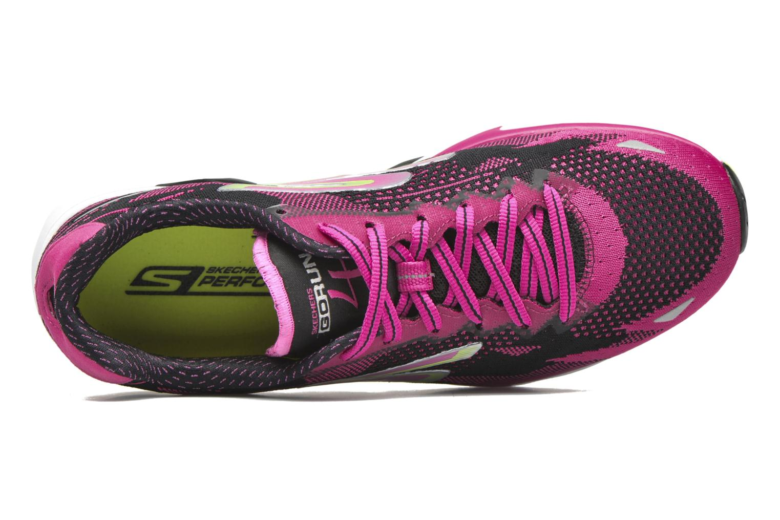 Sport shoes Skechers Go Run 4-2016 Pink view from the left
