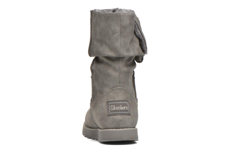 Botas Skechers Keepsakes - Leathere Gris vista lateral derecha