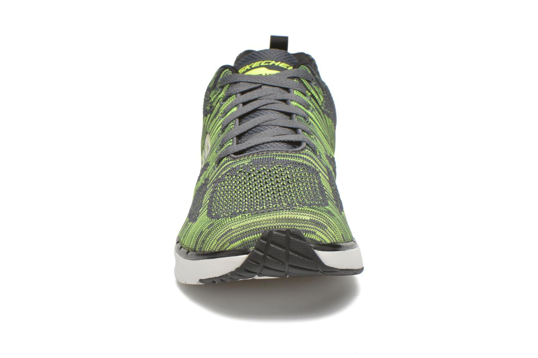 Chaussures de sport Skechers Skech-Air Infinity-R Gris vue portées chaussures