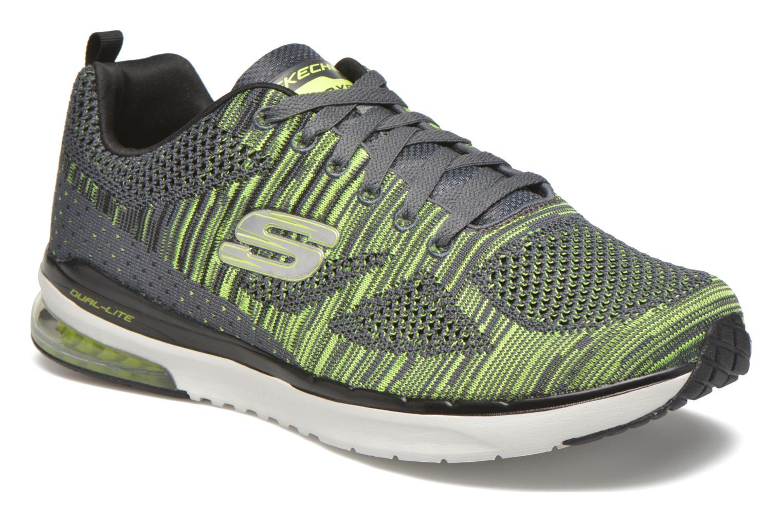 Chaussures de sport Skechers Skech-Air Infinity-R Gris vue détail/paire