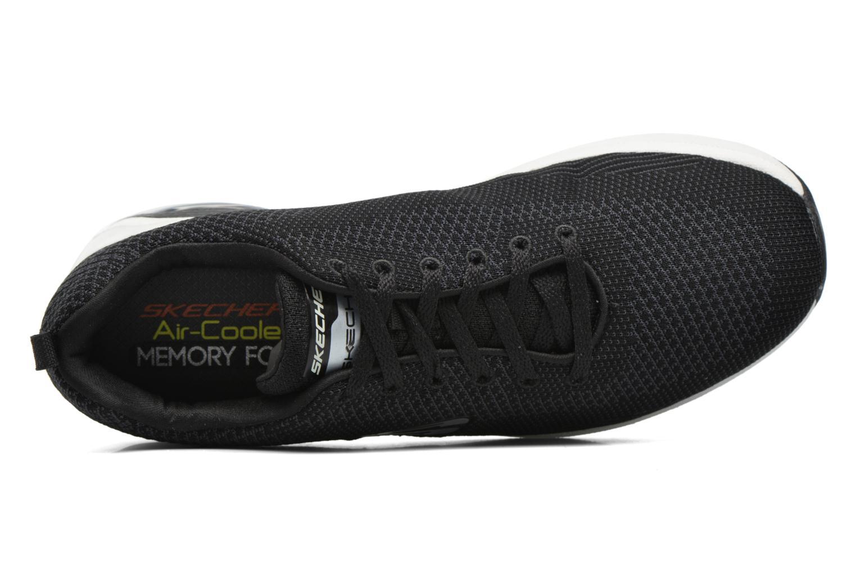 Baskets Skechers Skech Air- Extreme Noir vue gauche