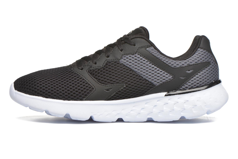 Chaussures de sport Skechers Go run 400 Noir vue face