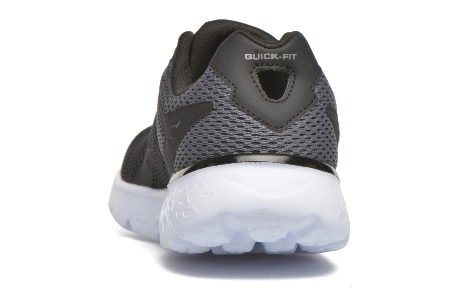 Sport shoes Skechers Go run 400 Black view from the right
