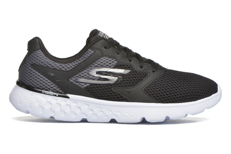 Sport shoes Skechers Go run 400 Black back view