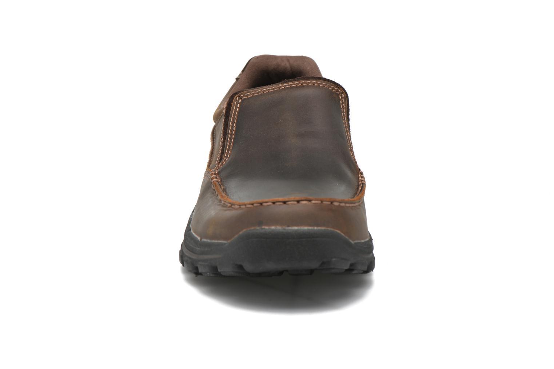 Loafers Skechers Braver- Rayland Brun bild av skorna på