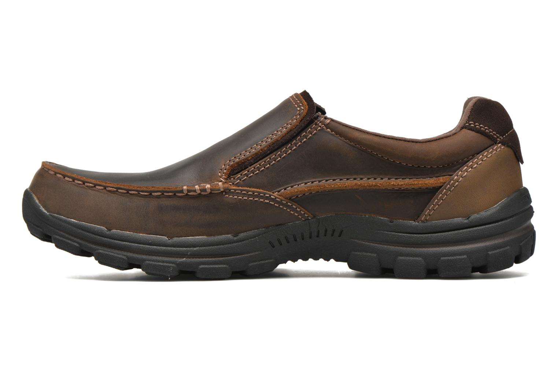 Loafers Skechers Braver- Rayland Brun bild från framsidan
