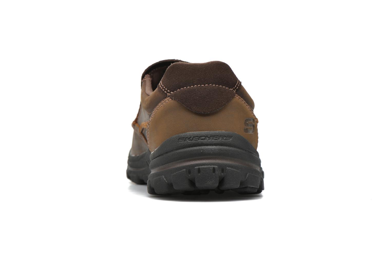 Loafers Skechers Braver- Rayland Brun Bild från höger sidan