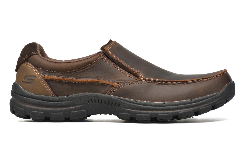 Loafers Skechers Braver- Rayland Brun bild från baksidan