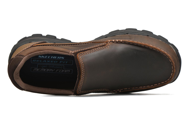 Loafers Skechers Braver- Rayland Brun bild från vänster sidan