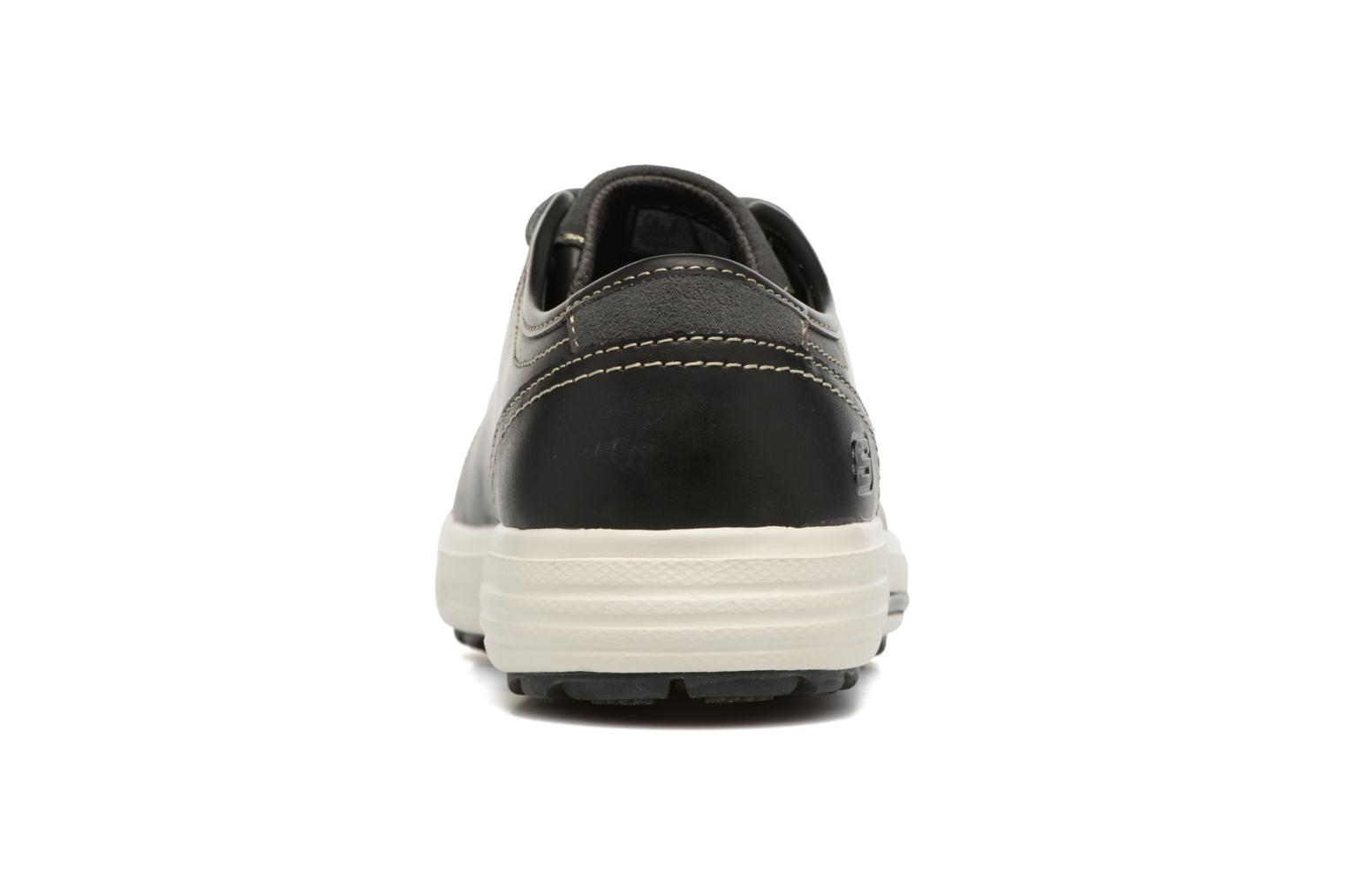 Trainers Skechers Porter- Ressen Black view from the right