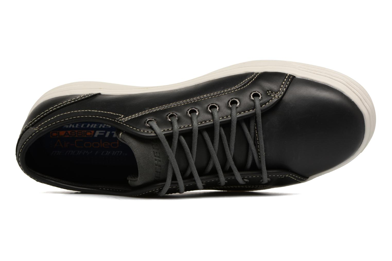 Trainers Skechers Porter- Ressen Black view from the left