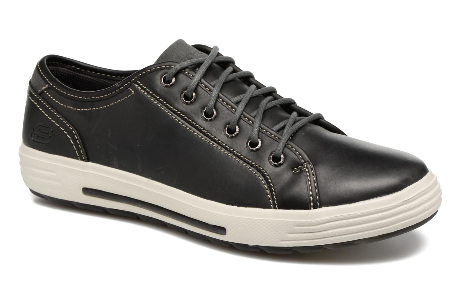 Trainers Skechers Porter- Ressen Black detailed view/ Pair view