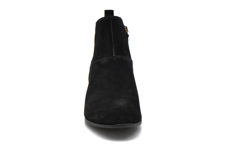 Carleton Side Zip Ankle Black