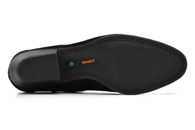 Bottines et boots Timberland Carleton Side Zip Ankle Noir vue haut