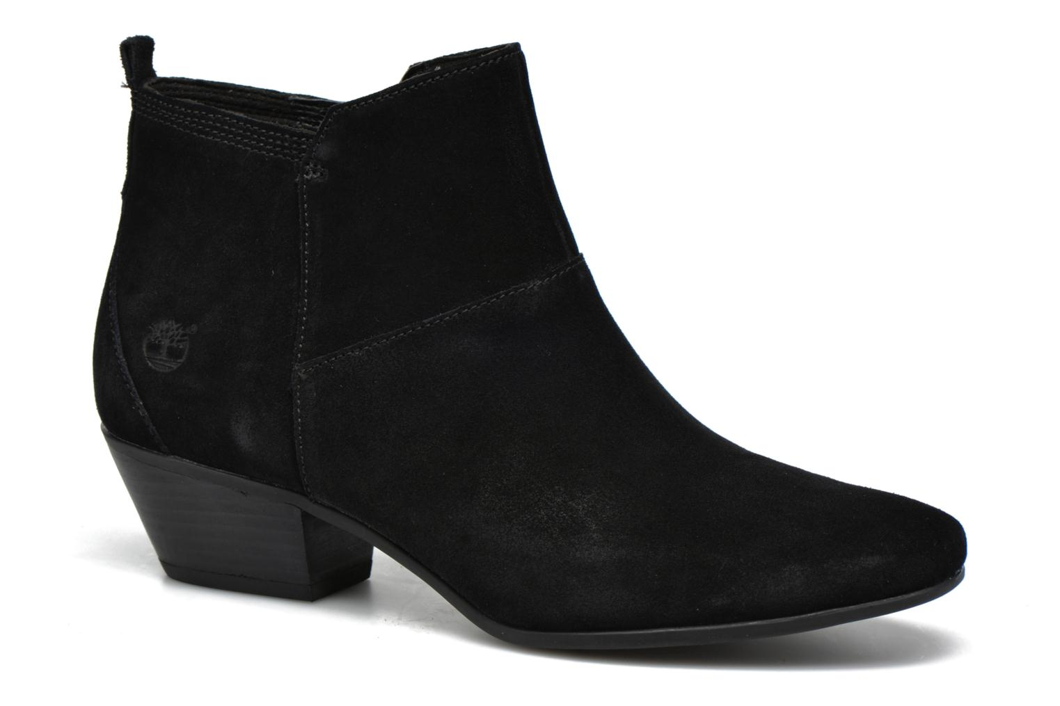 Carleton Side Zip Ankle Black