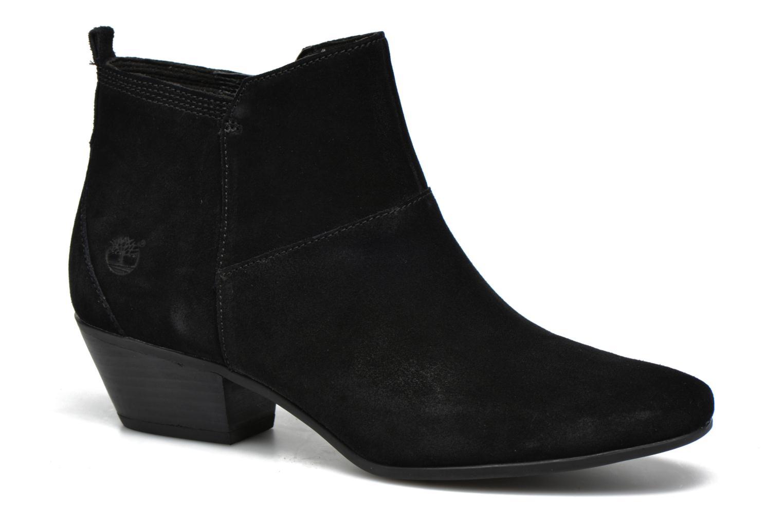 Bottines et boots Timberland Carleton Side Zip Ankle Noir vue détail/paire