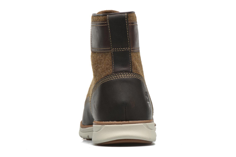 Bottines et boots Timberland Bradstreet MM Chukka Marron vue droite