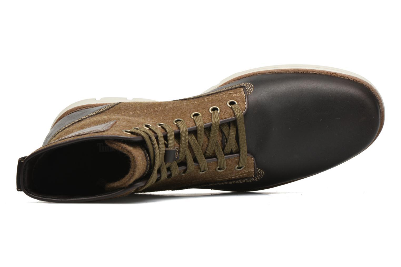 Bottines et boots Timberland Bradstreet MM Chukka Marron vue gauche