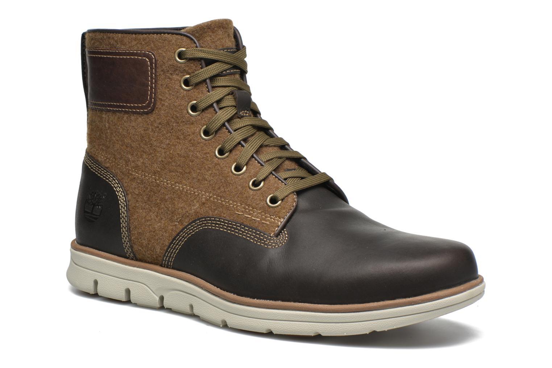 Bottines et boots Timberland Bradstreet MM Chukka Marron vue détail/paire