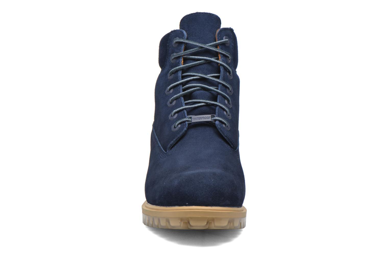 "Bottines et boots Timberland TPU 6"" WP Suede Noir vue portées chaussures"
