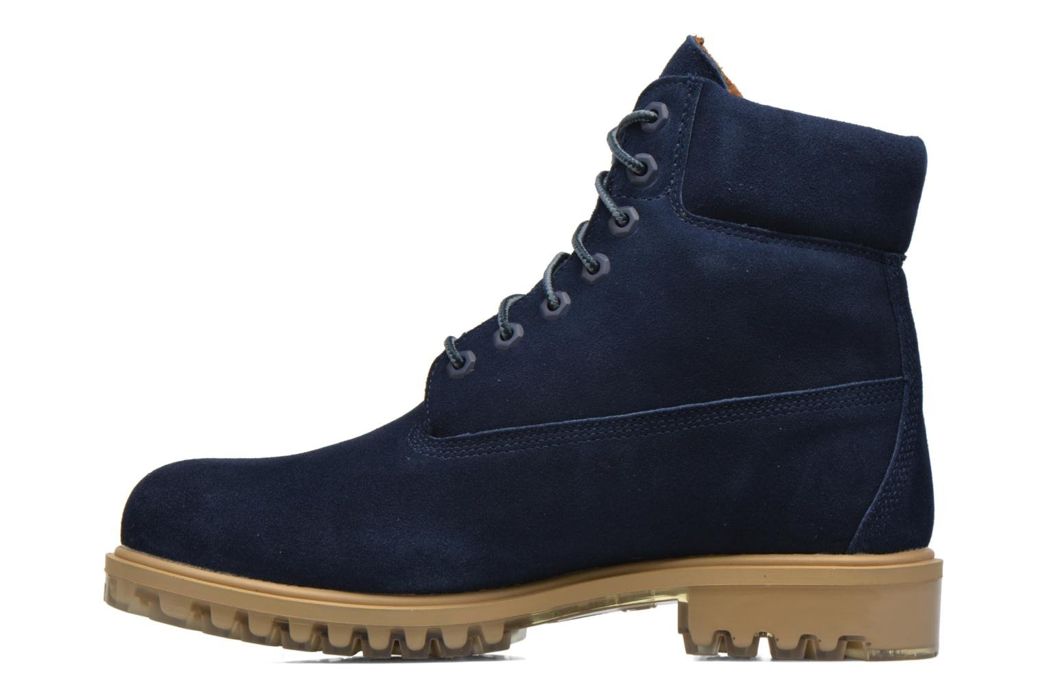 "Bottines et boots Timberland TPU 6"" WP Suede Noir vue face"