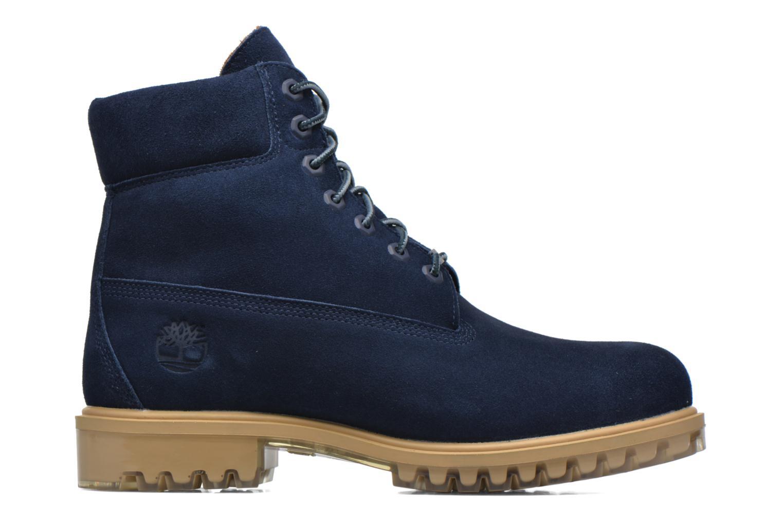 """Bottines et boots Timberland TPU 6"""" WP Suede Noir vue derrière"""