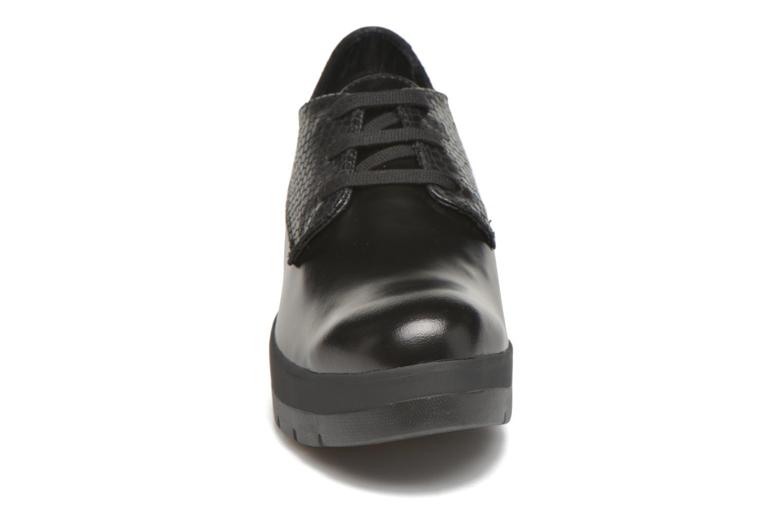 Schnürschuhe Stonefly Frozen 4 schwarz schuhe getragen
