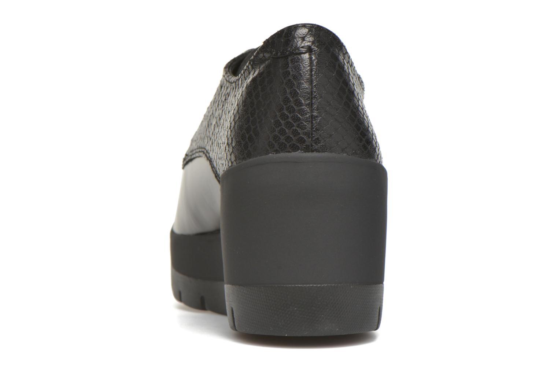 Zapatos con cordones Stonefly Frozen 4 Negro vista lateral derecha