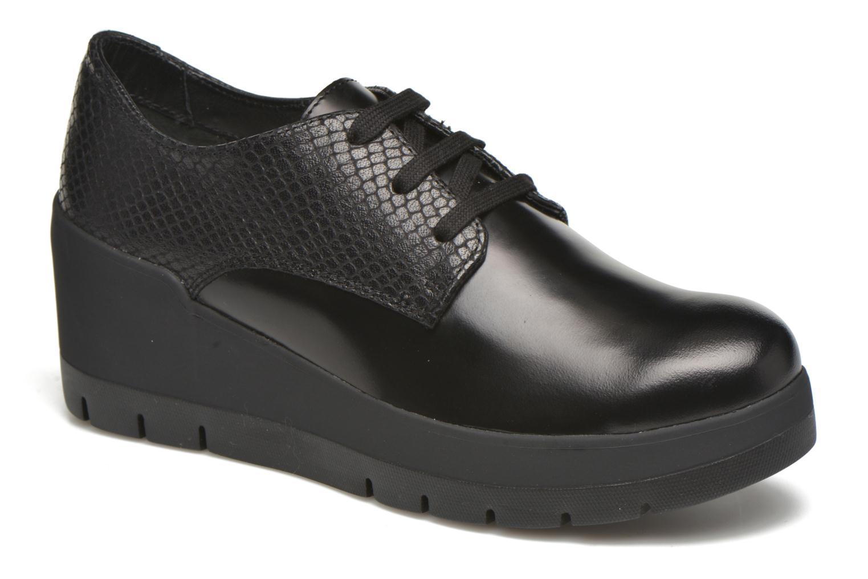 Clarks Lacci - Zapatos de Cordones de Piel Para Hombre Negro Negro 40 PNJjkD