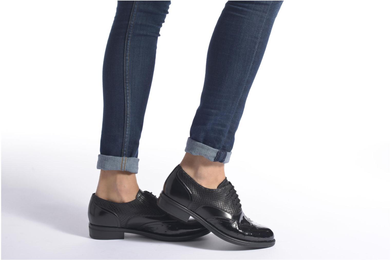 Chaussures à lacets Stonefly Clyde 14 Noir vue bas / vue portée sac